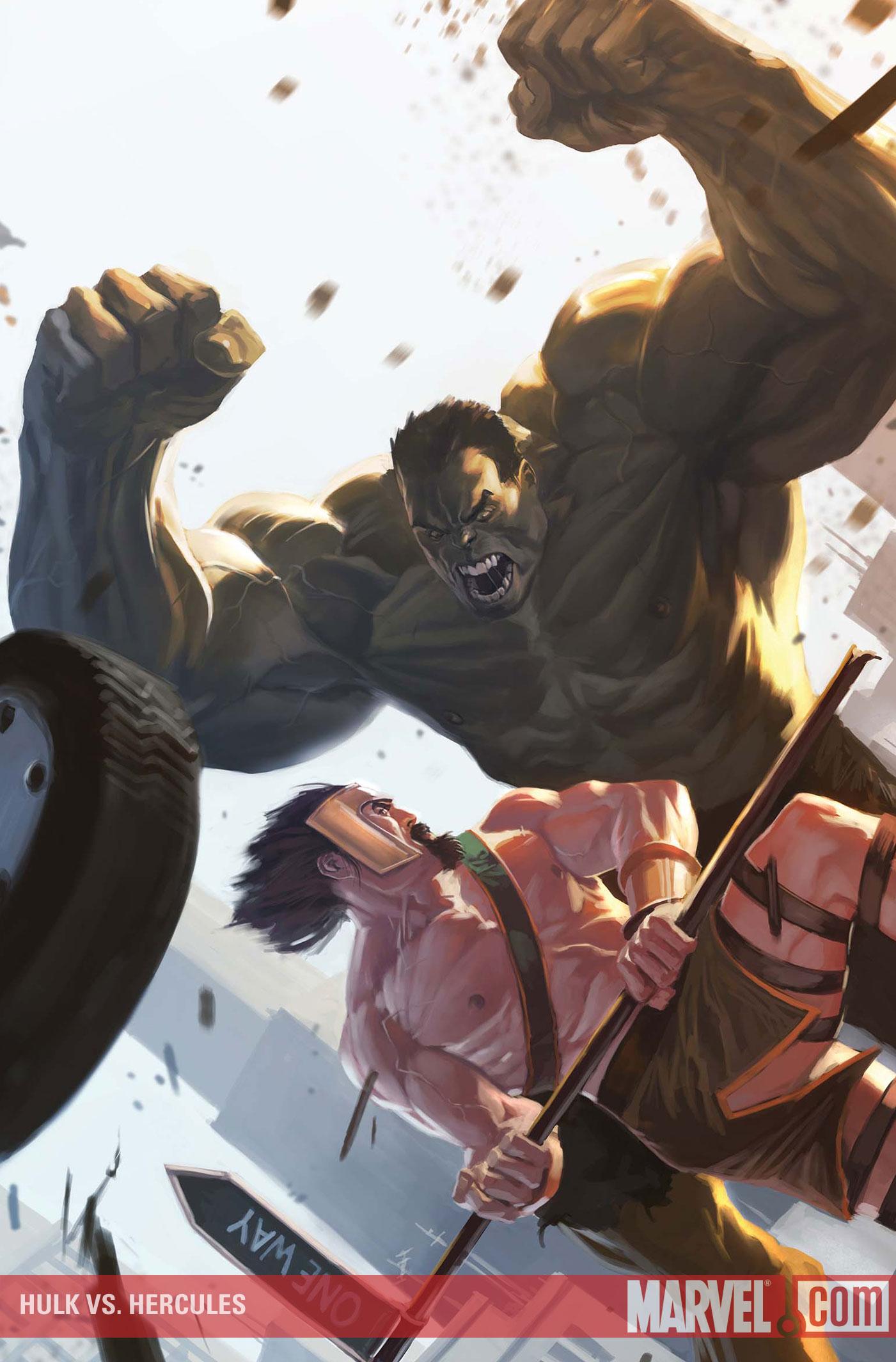 Hulk vs Hercule