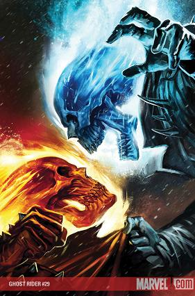 Marvel Heroes!  Ghost Rider Spirit Of Vengeance Blue Fire